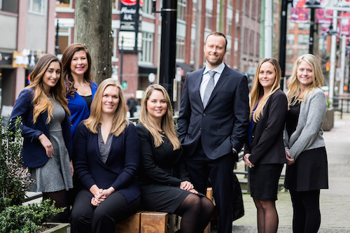 vancouver personal injury lawyers - bungay law office team